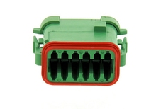 Deutsch DT06-12SC-EP06-W - CONNECTOR - Includes Wedge