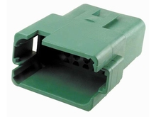 Deutsch DT04-12PC-B016 - DT 12WAY FEMALE RECEP C KEY GREEN