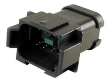 Deutsch DT04-08PB-P021 - DT 1X8WAY 52A BLACK BUSS RECEP