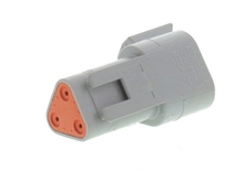Deutsch DT04-3P - CONNECTOR - Includes Wedge