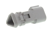 Deutsch DT04-3P-E008 - DT 3WAY FEMALE RECEP + SHRINK BOOT ADAPTOR