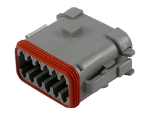 Deutsch DT06-12SA-EP06-W - CONNECTOR - Includes Wedge