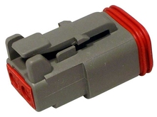 Deutsch DT06-2SW - DT 2WAY MALE PLUG + WEDGE