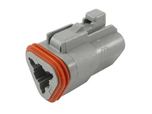Deutsch DT06-3S-C015 - DT 3WAY MALE PLUG REDUCED SEAL