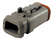 Deutsch DT06-4S-E008 - DT 4WAY MALE PLUG + SHRINK BOOT ADAPTOR
