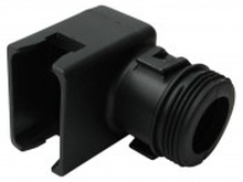 Deutsch DT12SBS-RA - DT 12WAY MALE PLUG 90¡ BACKSHELL